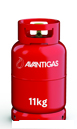 Avanti 11 kg refillable propane gas cylinder image