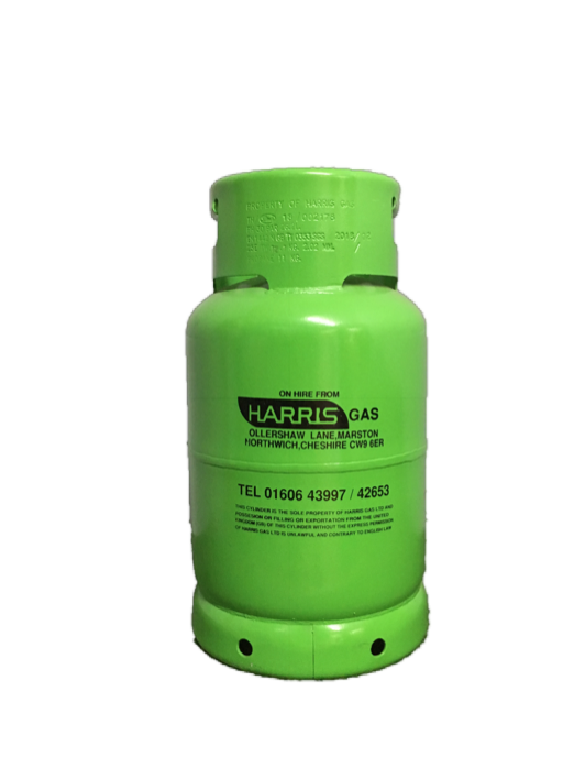 HARRIS GAS 11 kg Refillable Propane Patio Cylinder Image