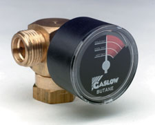Gaslow regulator gauge