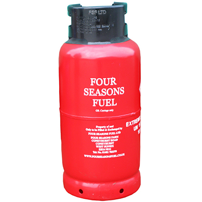 FOUR SEASONS FUEL 18kg FLT Propane Gas Cylinder Image