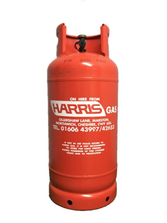 HARRIS GAS 18 kg Refillable Propane Cylinder Image