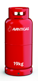 Avanti 19 kg refillable propane gas cylinder Image