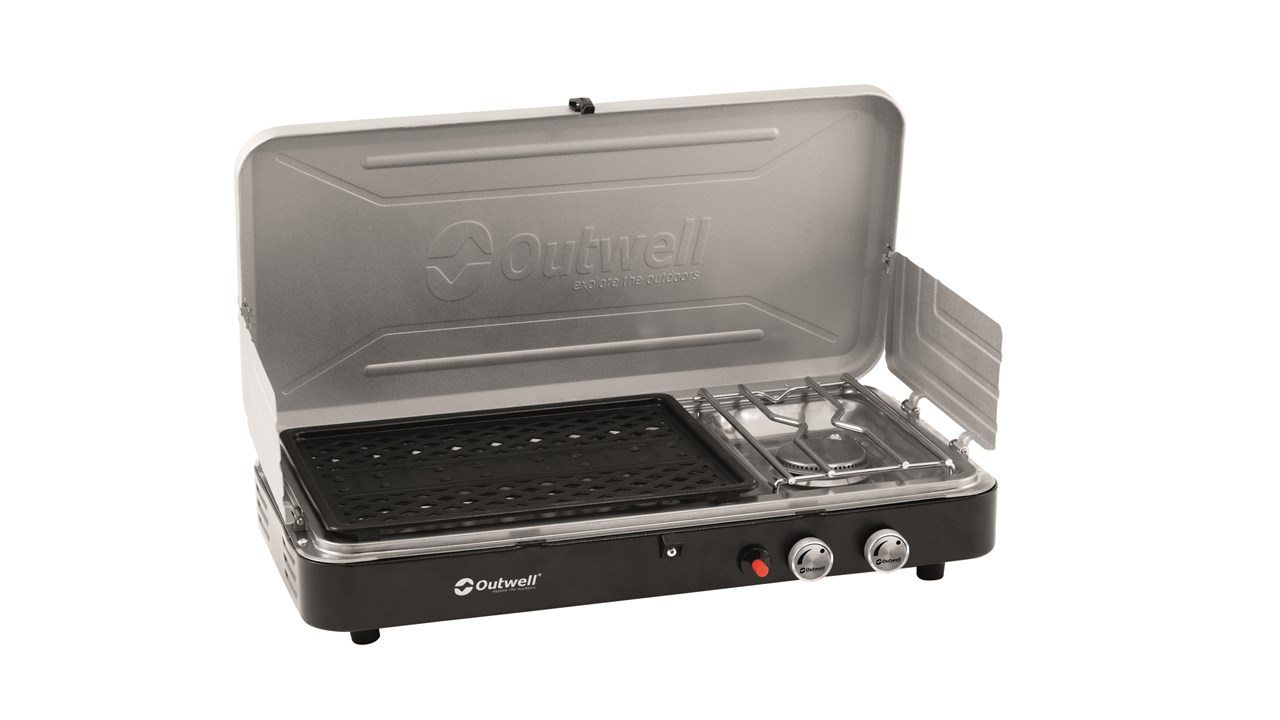 Outwell Chef Cooker 2-Burner Stove w/Grill Image