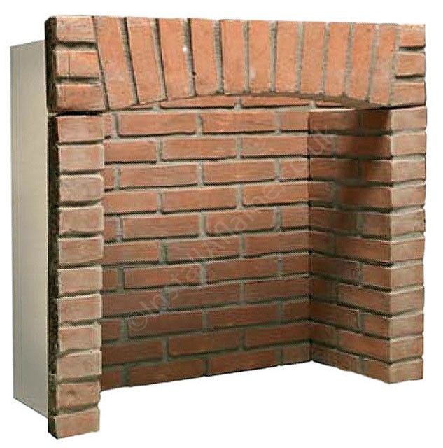 Gallery 4 piece brick chamber with arch