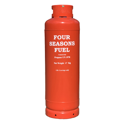 FOUR SEASONS FUEL 47kg Propane Gas Cylinder Image