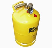 Gaslow R67 6kg refillable No.1 cylinder