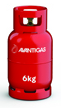 Avanti 6 kg refillable propane  gas cylinders image
