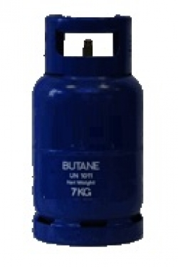 Portable Gas 7kg Butane refillable cylinder