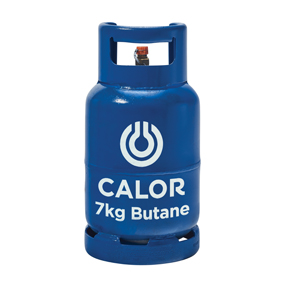 Calor Gas 7kg Butane refillable cylinder Image