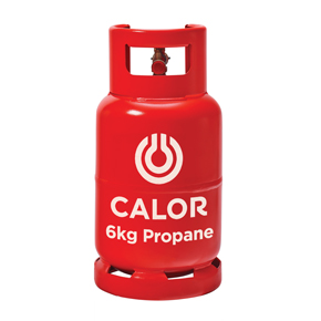 Calor Gas 6 kg Propane refillable cylinder Image