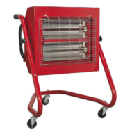 Sealey IRS153 Infrared Halogen Heater Image