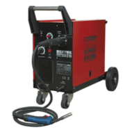 Sealey MIGHTYMIG210 Professional Gas/No-Gas MIG Welder 210Amp with Euro Tor Image