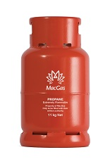 MacGas 11 kg refillable cylinder Cylinder
