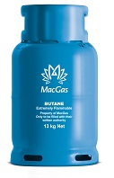 MacGas 13 kg refillable cylinder image