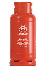 MacGas 19 kg refillable cylinder image