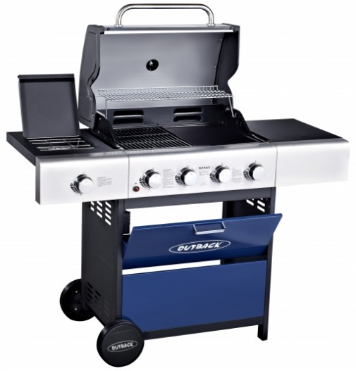 Outback METEOR SELECT 4 BURNER GAS – BLUE OUT370522