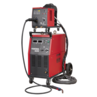 Sealey POWERMIG6025S Professional MIG Welder 250Amp 415V 3ph with Binzel® Euro Torch & Portable Wir Image