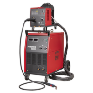 Sealey POWERMIG6035S Professional MIG Welder 350Amp 415V 3ph with Binzel® Euro Torch & Portable Wir Image