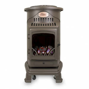 Provence Honey Glow Brown Gas Heater Image