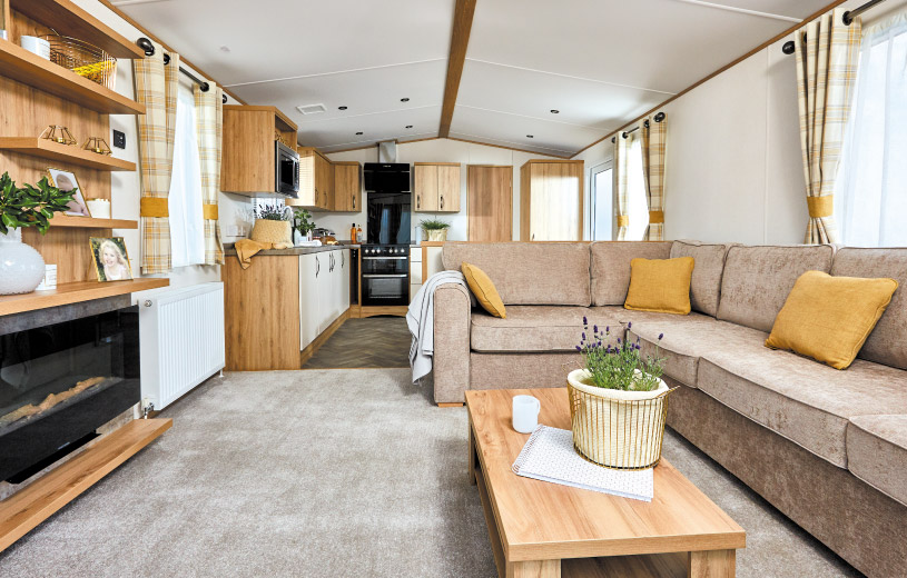 ABI The Blenheim 36 x 12 2b Holiday Home Image