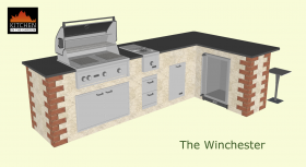 Lynx Winchester Outdoor kitchen
