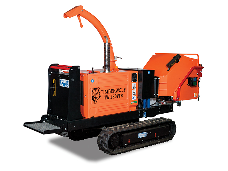 TIMBERWOLF 230VTR Wood Chipper Image