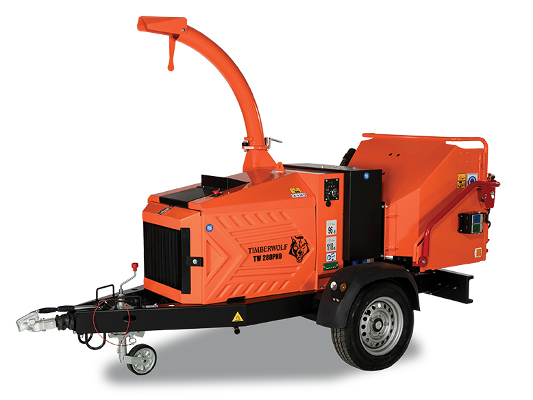 TIMBERWOLF 280PHB Wood Chipper Image