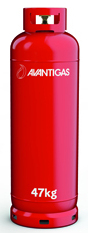 Avanti 47 kg refillable propane gas cylinder Image