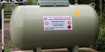 FOUR SEASONS FUEL LPG Bulk Tank Image
