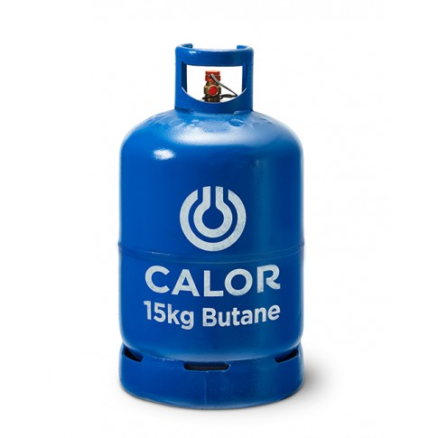 Calor Gas 12kg Butane refillable cylinder Image