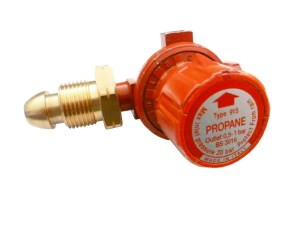Continental ADJUSTABLE HIGH PRESSURE Propane REGULATOR 0 -1 BAR Image