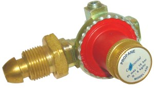 Continental ADJUSTABLE HIGH PRESSURE PROPANE REGULATOR 0 -4 BAR Image