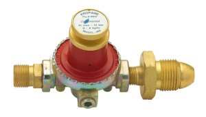 Continental ADJUSTABLE HIGH PRESSURE PROPANE REGULATOR 0.5 - 4BAR Image