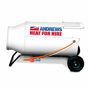 Andrews G260 DV Direct Fired Gas heater Image