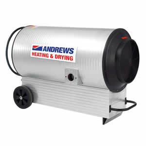 Andrews  IG 60 DV indirect fired gas heater Image