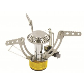 Camping Stove with 4 Fuel Tablets Highlander Compact Solid Fuel Cooker