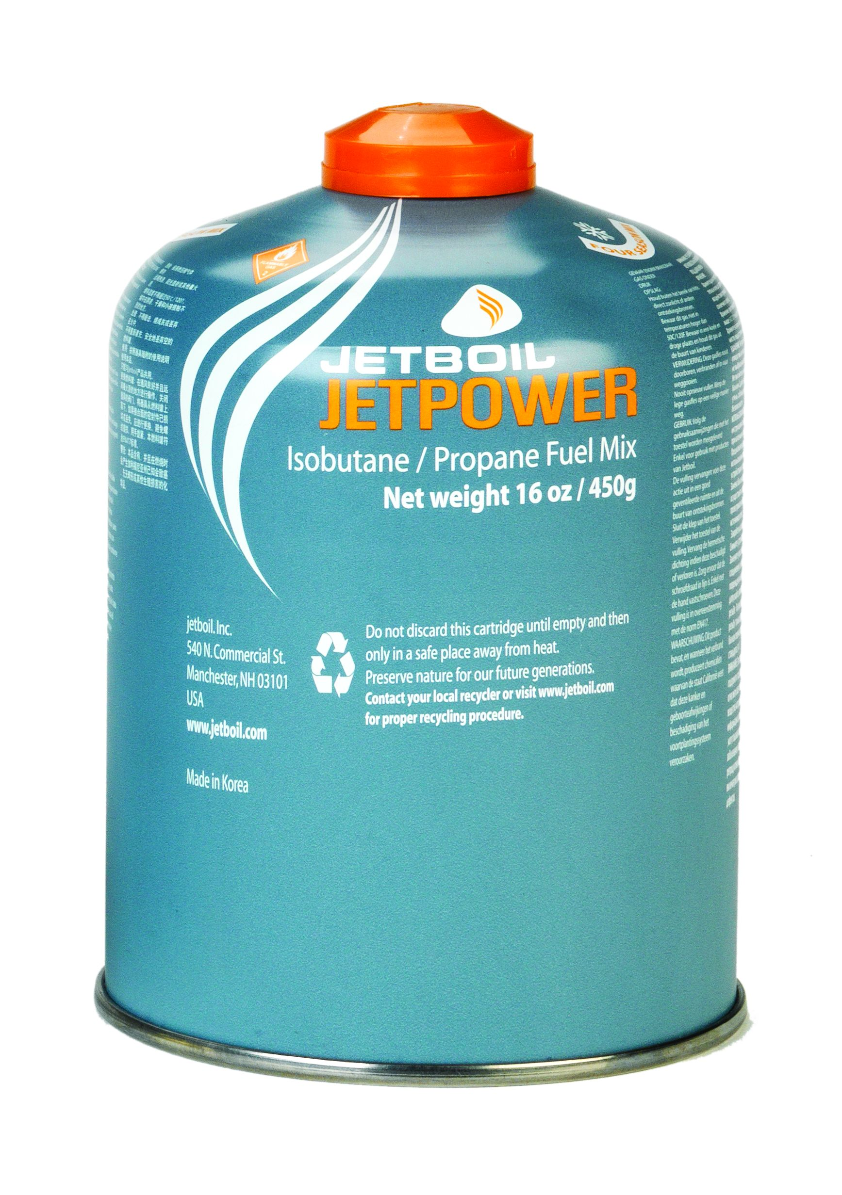 Jetboil Jetpower 450g cartridge Image