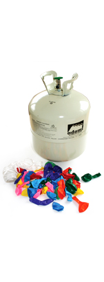 Adams Gas Fill'N'Away Disposable Helium Cylinder to fill 50 9″ Balloons Image