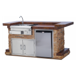 Bull Entertainers Bar Outdoor kitchen