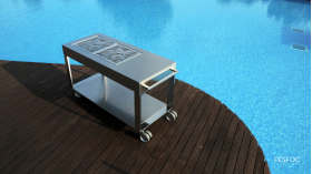 FESFOC TACORA - LUXURY, FREESTANDING CHARCOAL BBQ
