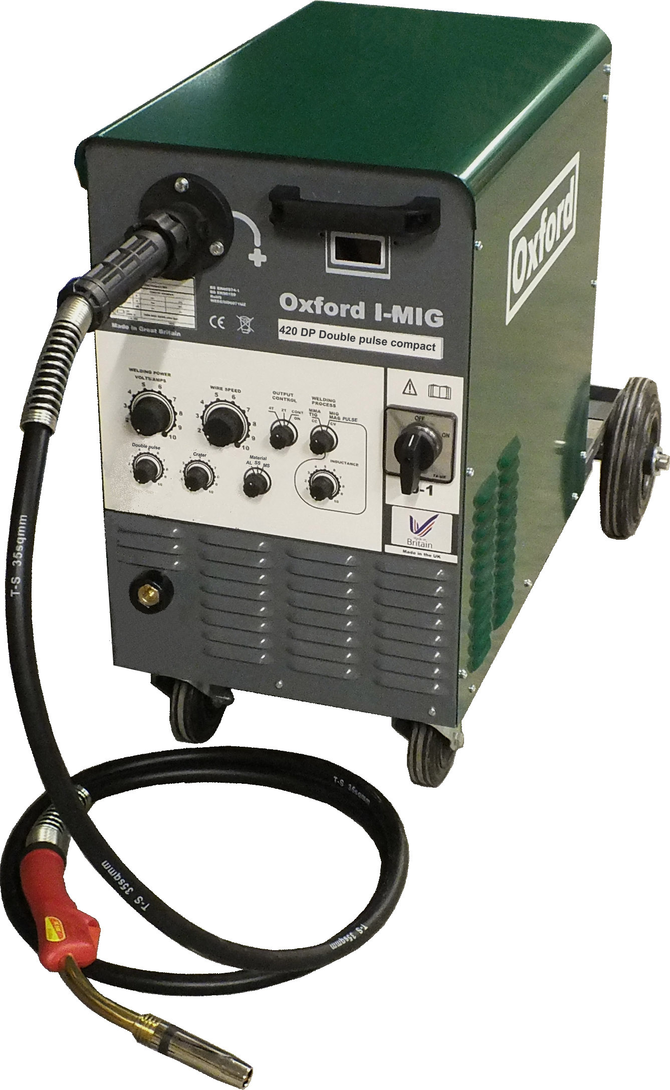 Oxford I-MIG 330 DP dual voltage