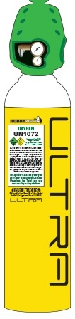 Hobbyweld Oxygen Ultra refillable cylinder Image