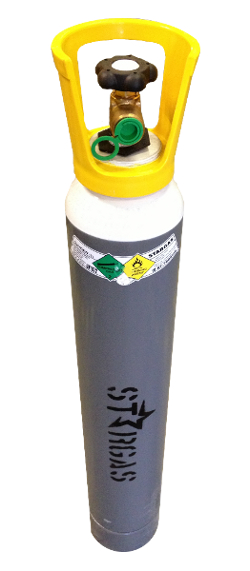 STARGAS Oxygen 10 litre refillable cylinders