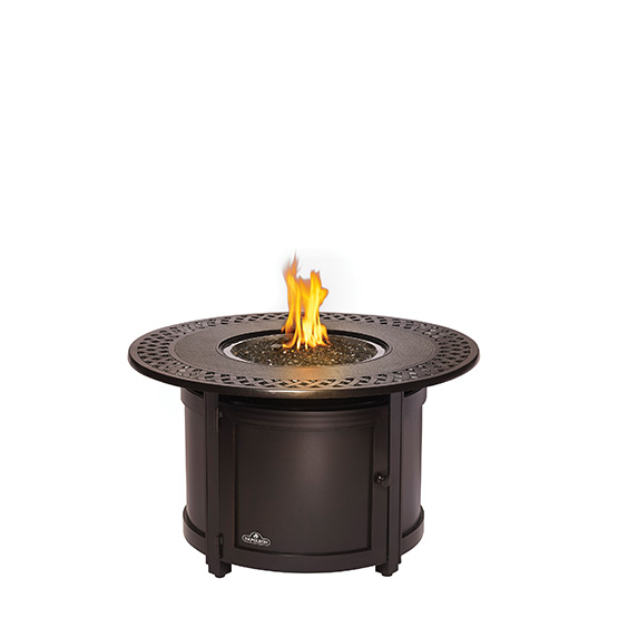 Napoleon Victorian Round Fire Table Image
