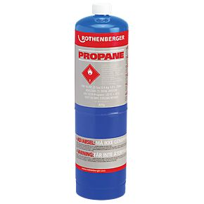 Rothenberger 400g Propane disposable cartridge Cylinder