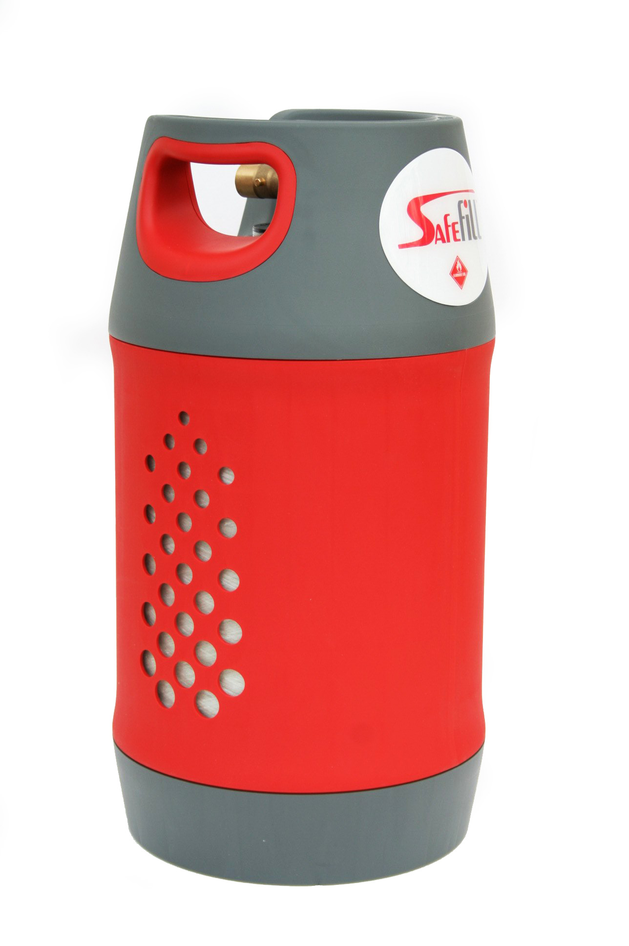 Safefill 10kg refillable propane cylinder