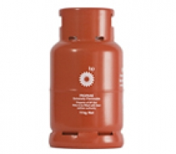 BP Gas steel 11 kg refillable cylinder image