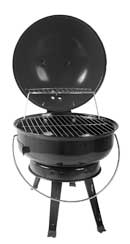 Lifestyle Tabletop Charcoal Grill Image