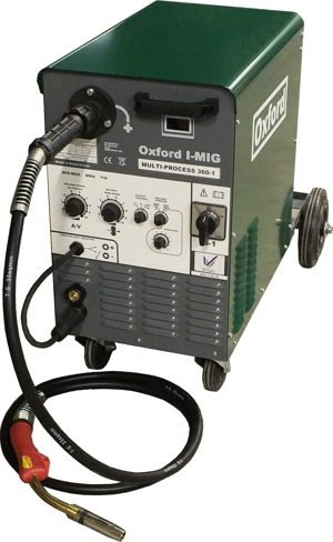 Oxford MULTI-ARC Compact - DUAL VOLTAGE - Heavy duty CC/CV   multi-process MIG + TIG + ARC Image
