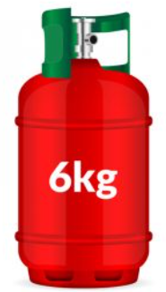 YORKSHIRE GAS 6kg Propane Patio Gas Cylinder Image